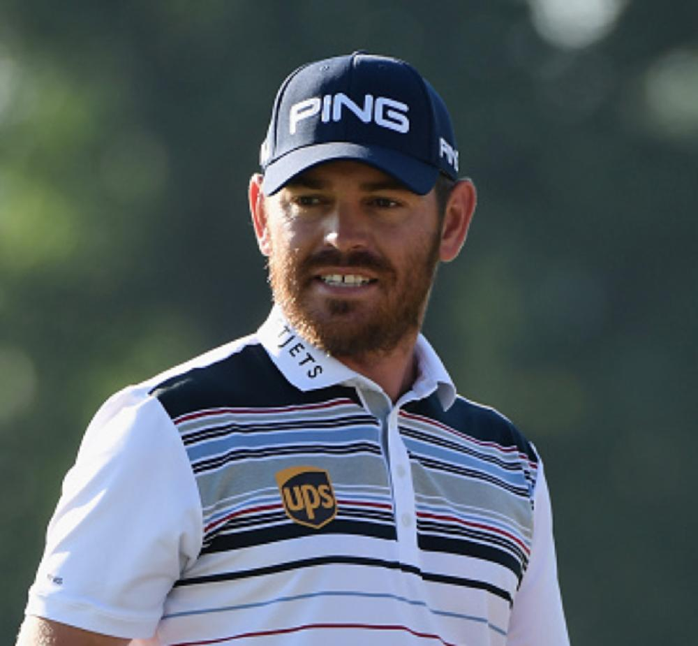 Home favorite Louis Oosthuizen, seen in this file photo, hit a five-under-par 67 and trail leader Sergio Garcia by one shot at the halfway stage of the European Tour's Nedbank Golf Challenge at the Gary Player Country Club on Friday.