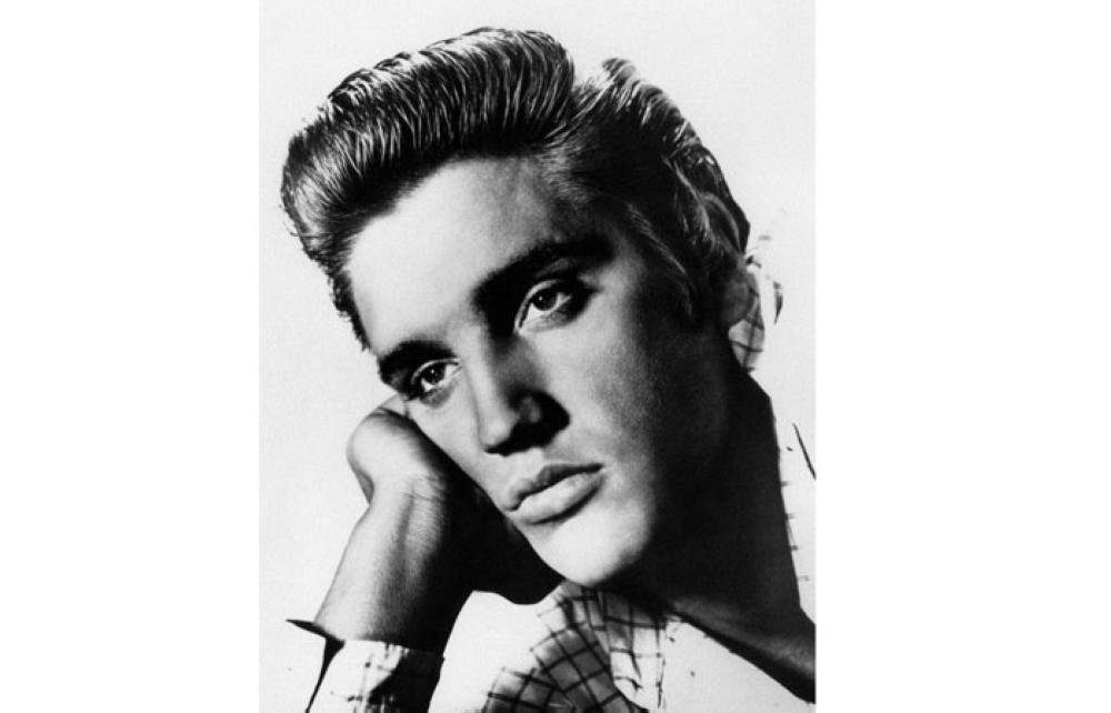 This undated picture shows US rock star Elvis Presley. Music legend Elvis Presley, baseball great Babe Ruth and late Supreme Court justice Antonin Scalia are among seven people who will be honored with the Presidential Medal of Freedom. — AFP
