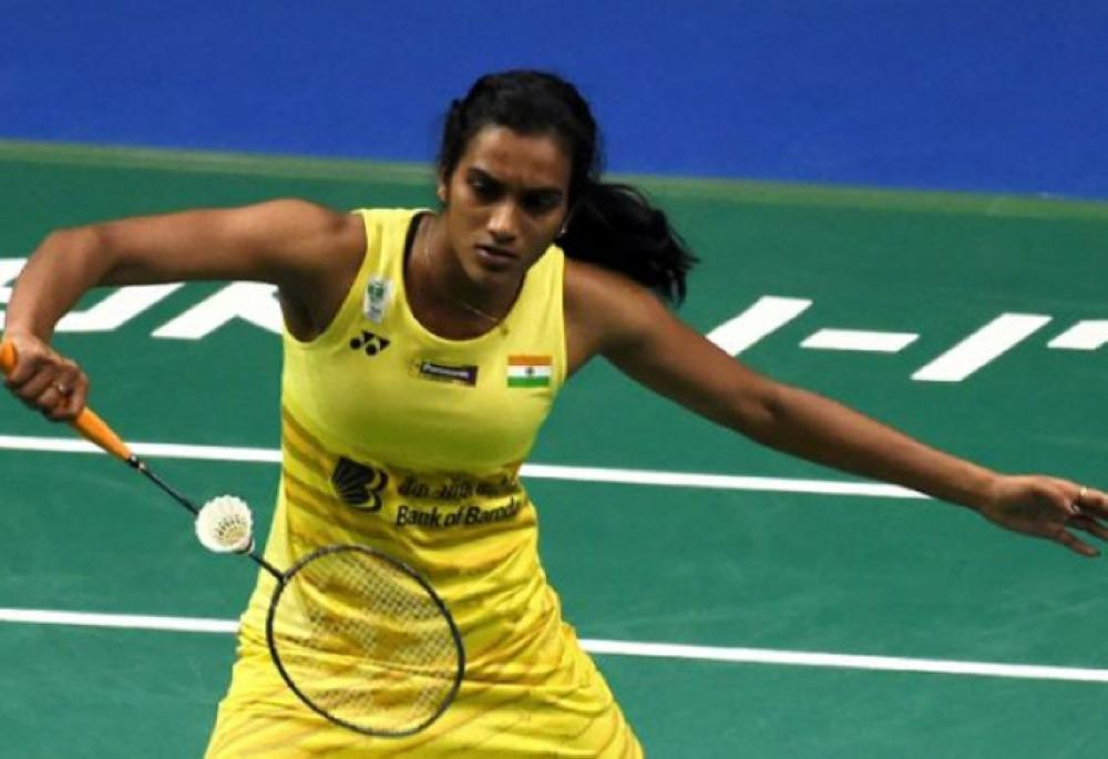 P.V. Sindhu of India safely reached the Hong Kong Open last 16 on Wednesday. — AFP
