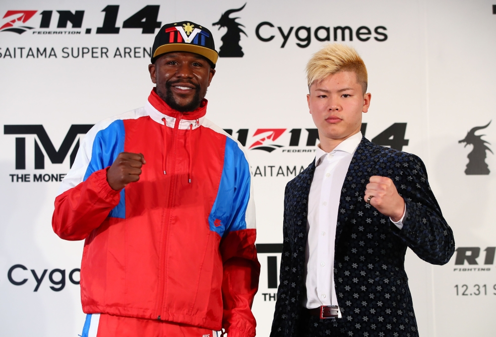 Floyd Mayweather vs. Nasukawa Back On