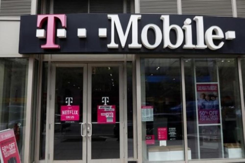 A file photo of T-Mobile.