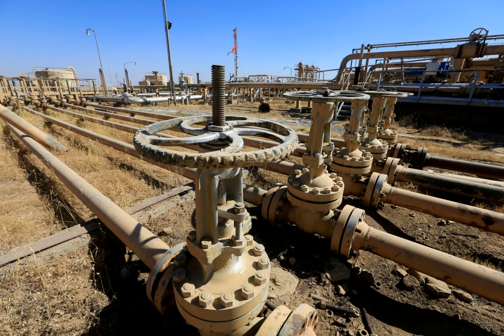An oilfield is seen in the Dibis area on the outskirts of Kirkuk, Iraq, in this Oct. 17, 2017 file photo. — Reuters