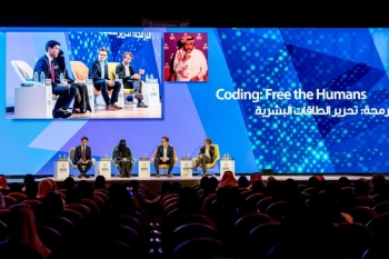 One of the panel discussions at the third Misk Global Forum, which concluded in Riyadh on Thursday. — Courtesy photo