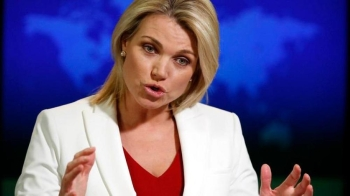 File photo: The denial about a final US conclusion regarding the Khashoggi case came from US State Department spokeswoman Heather Nauert in a statement. —  AP