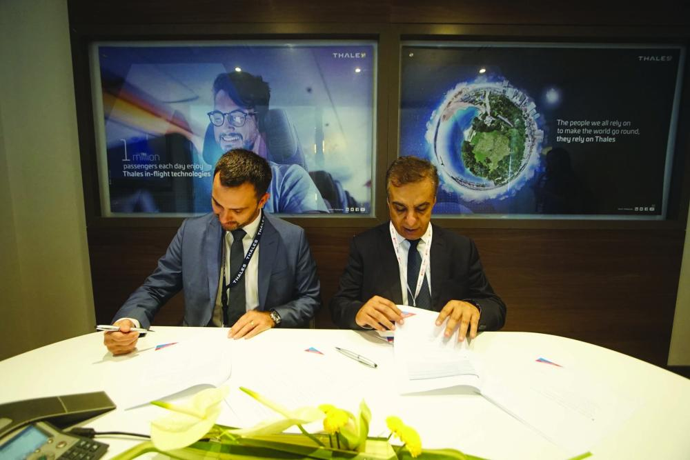 Air Arabia and Thales sign the agreement