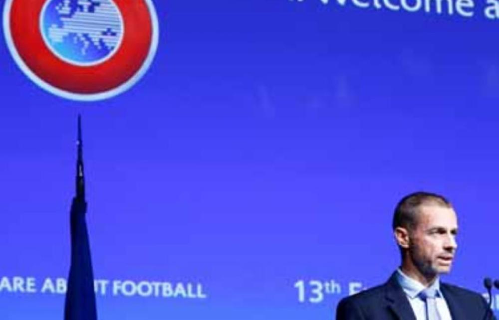 File photo of UEFA president Aleksander Ceferin. — Reuters