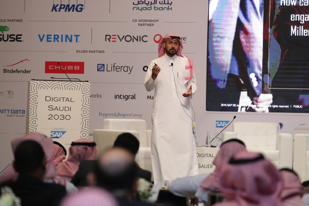 Khaled Alsaleh, Managing Director, SAP Saudi Arabia during Digital Saudi 2030