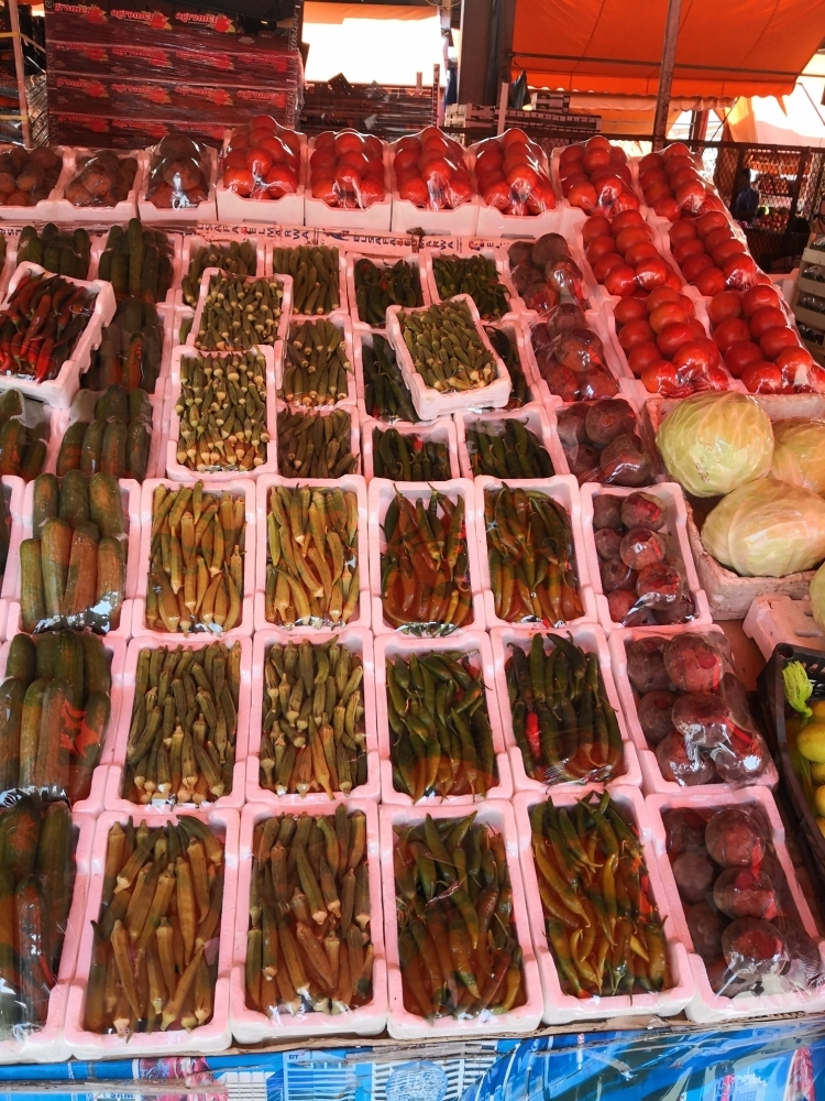 Rain in many parts of the vegetable-producing regions of the Kingdom has affected supplies, leading to a rise in prices.