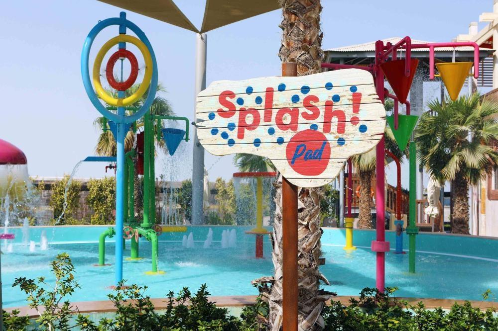 Splash at Dubai waterpark.