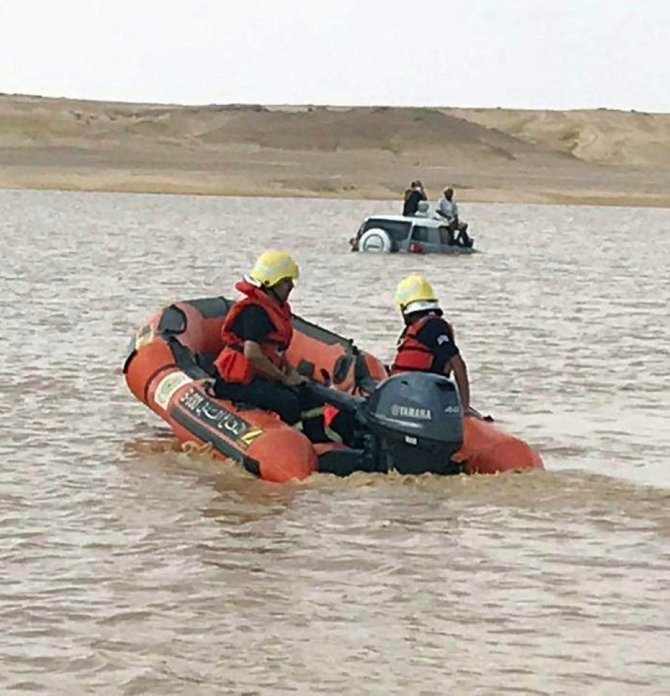The Civil Defense rescued a total of 2,157 people during the recent floods in various parts of the Kingdom.