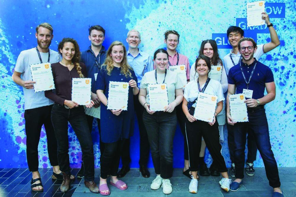 Progress Prize group photo