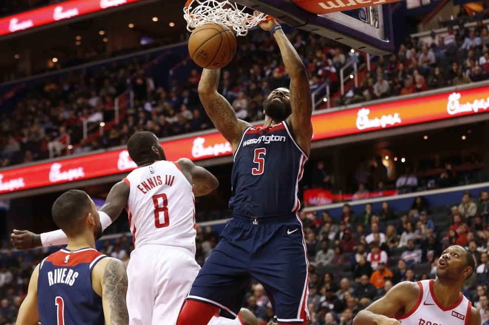 Washington Wizards: Player Grades from OT win over Houston