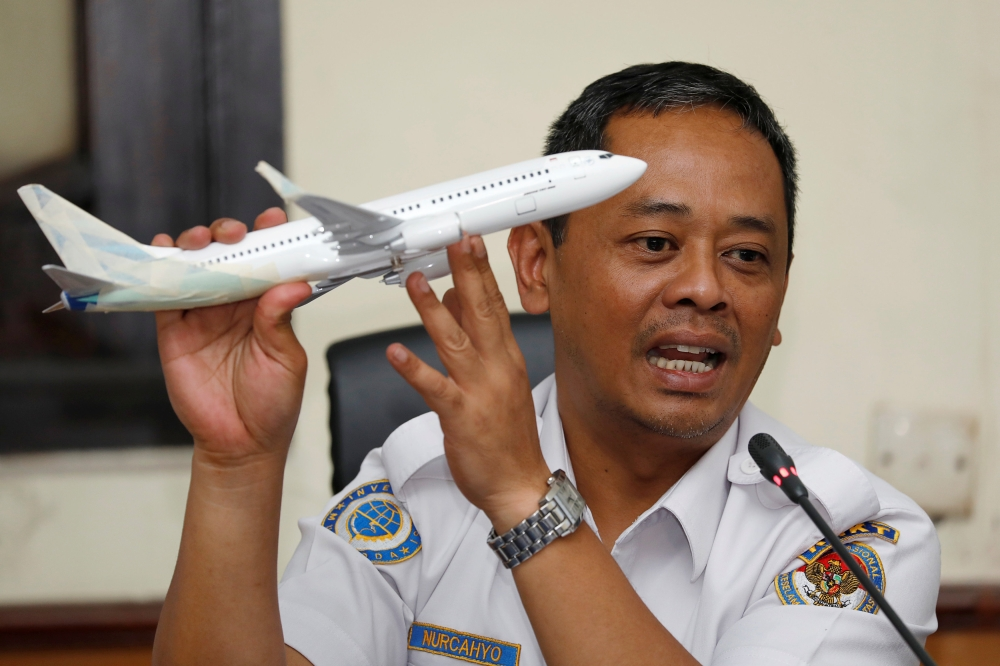 Reports: Readings show Lion Air pilots struggled with Boeing 737 system before crash