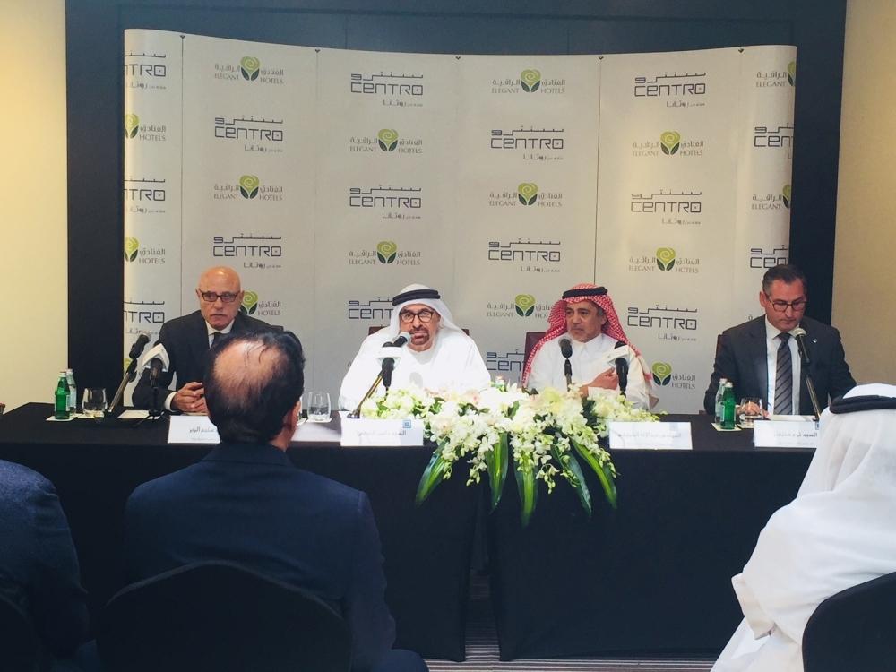 22222 (From left) Rotana's Vice Chairman, Selim El Zyr; Rotana's Chairman, Nasser Al Nowais; Eng Abdulelah Al Khereiji, chairman of Elegant Hotels and Tom Stevens Area Vice President, Rotana Saudi Arabia_02