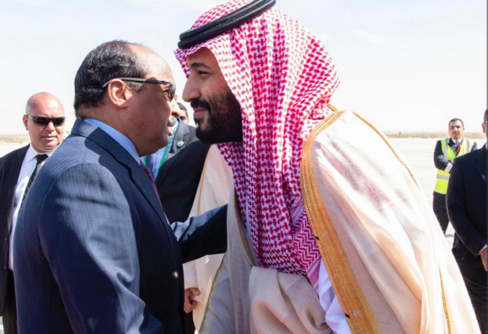 Saudi crown prince Mohammed bin Salman arrives in Algeria