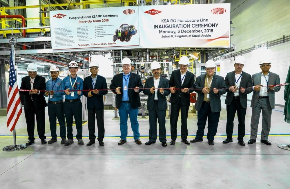 DuPont Water Solutions opens new RO production line at