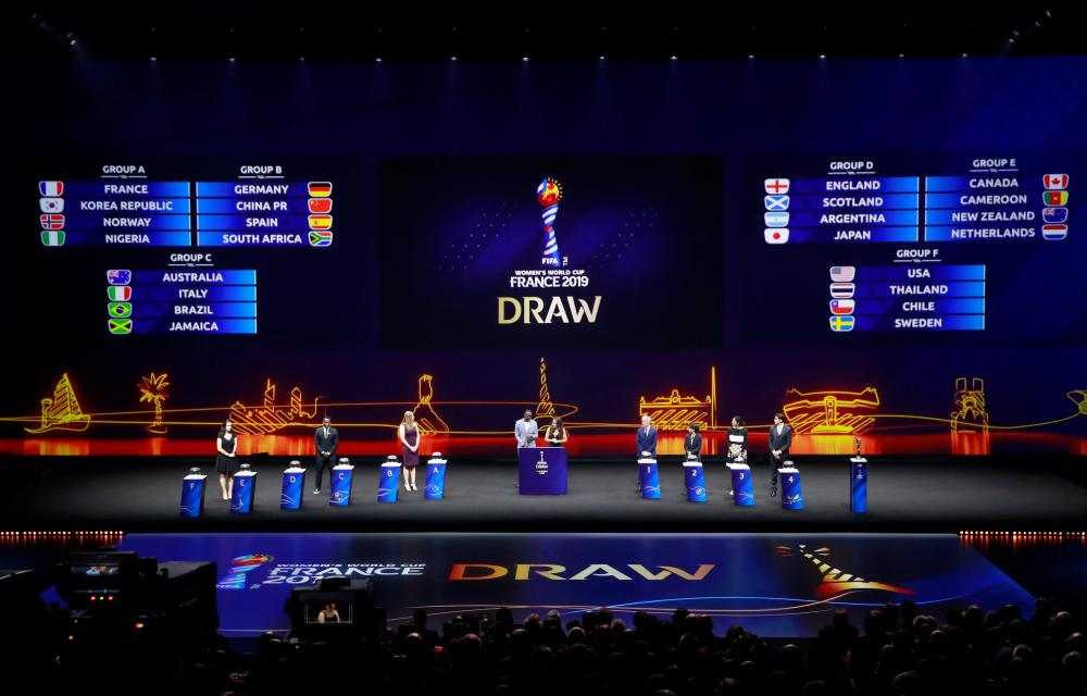 World Cup draw is friendly to USA women's soccer team