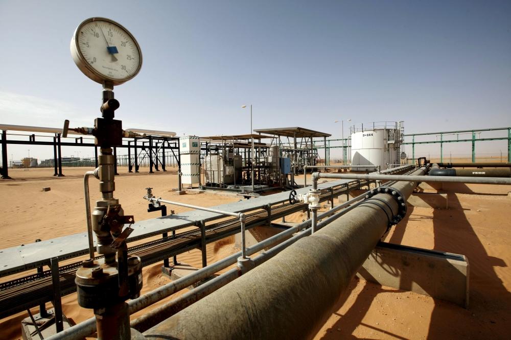 A general view of the El Sharara oilfield, Libya. — Reuters