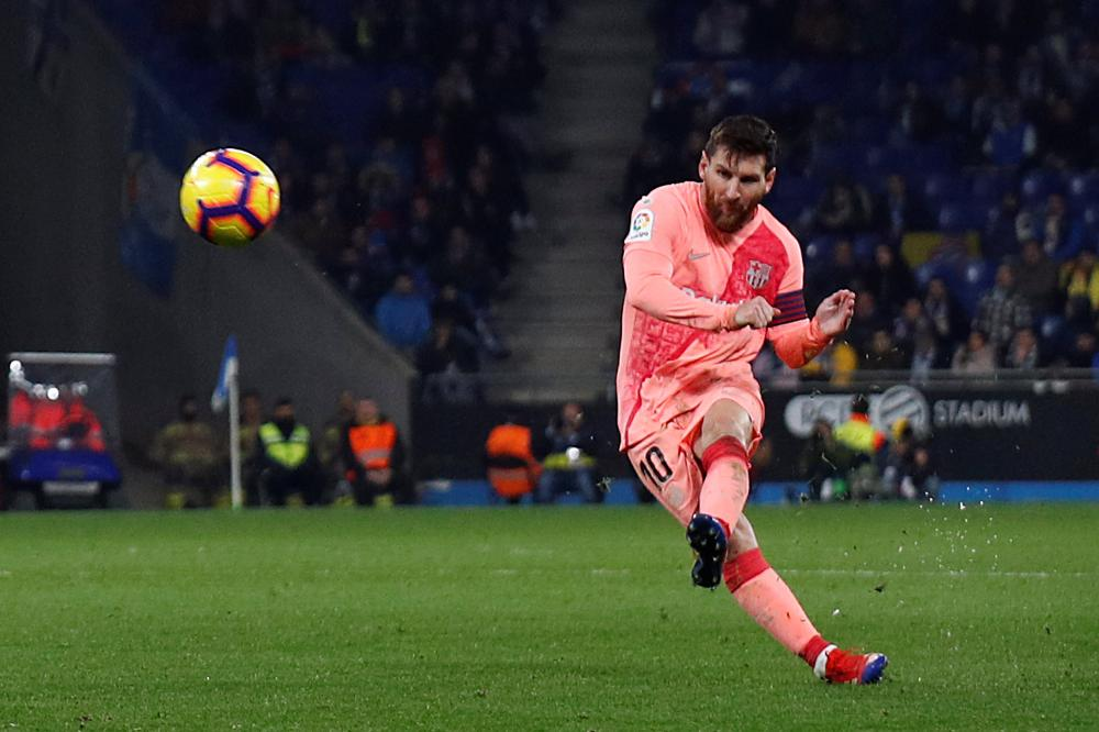 LaLiga: Messi sets new record in Barcelona's 4-0 win over Espanyol