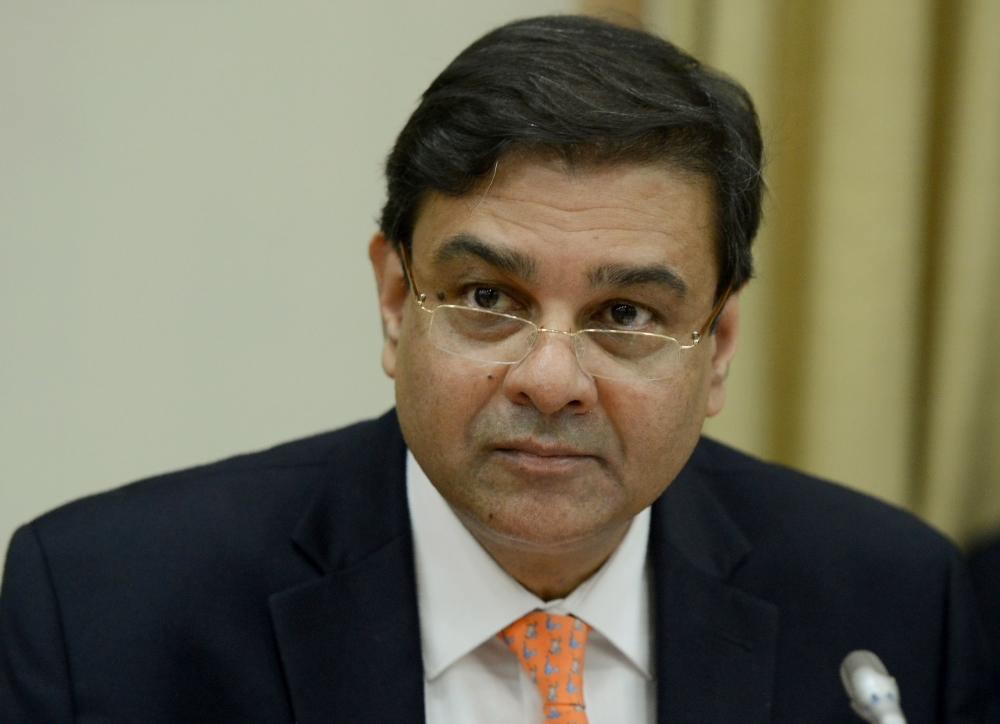 Reserve Bank of India (RBI) Governor Urjit Patel attends a news conference at the bank's head office in Mumbai in this Dec. 6, 2017 file photo. — AFP