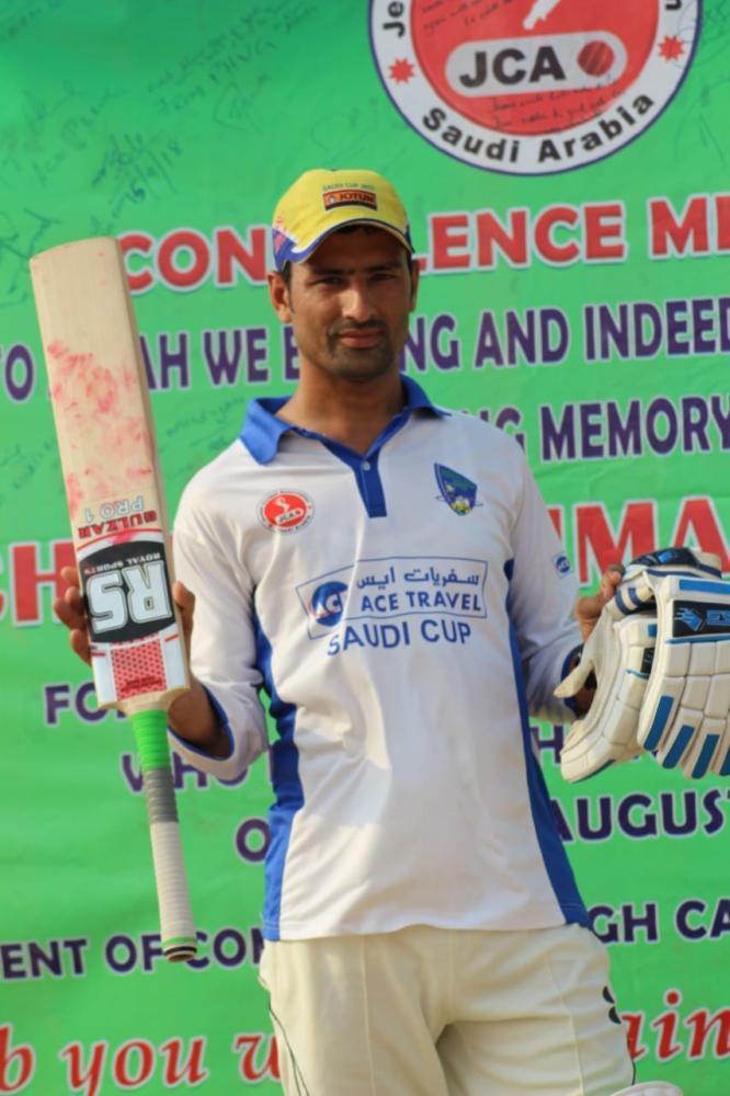 Bilal — 86 runs