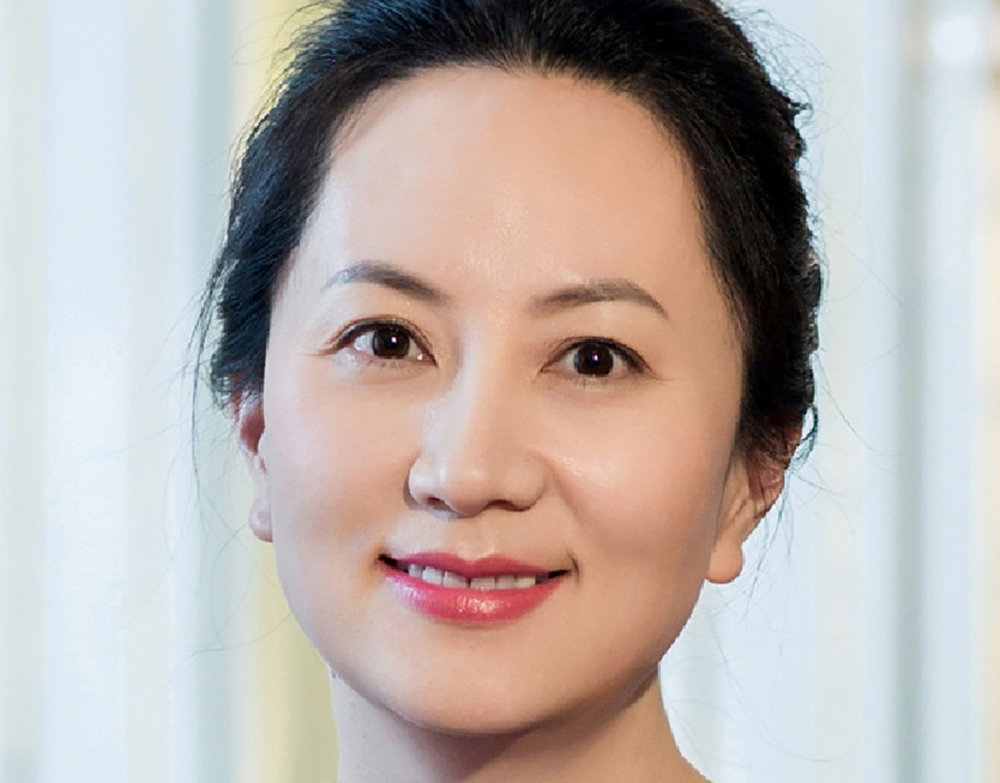 Meng Wanzhou, Huawei Technologies Co Ltd's chief financial officer (CFO), is seen in this undated handout photo. — Reuters