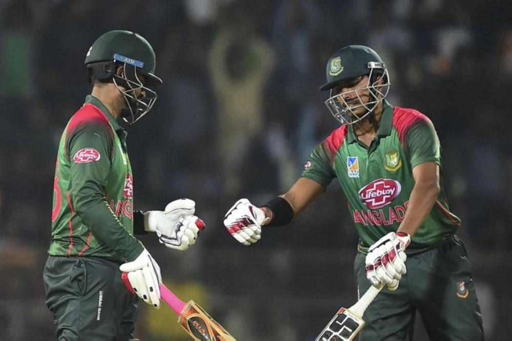 Tamim Iqbal and Soumya Sarkar slammed half-centuries as Bangladesh cruised to win over the West Indies in the third and final One-Day International in Sylhet on Friday.