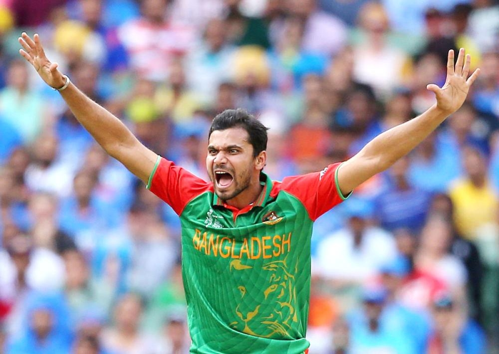 Mashrafe Mortaza has blazed a trail like few others. — Courtesy photo