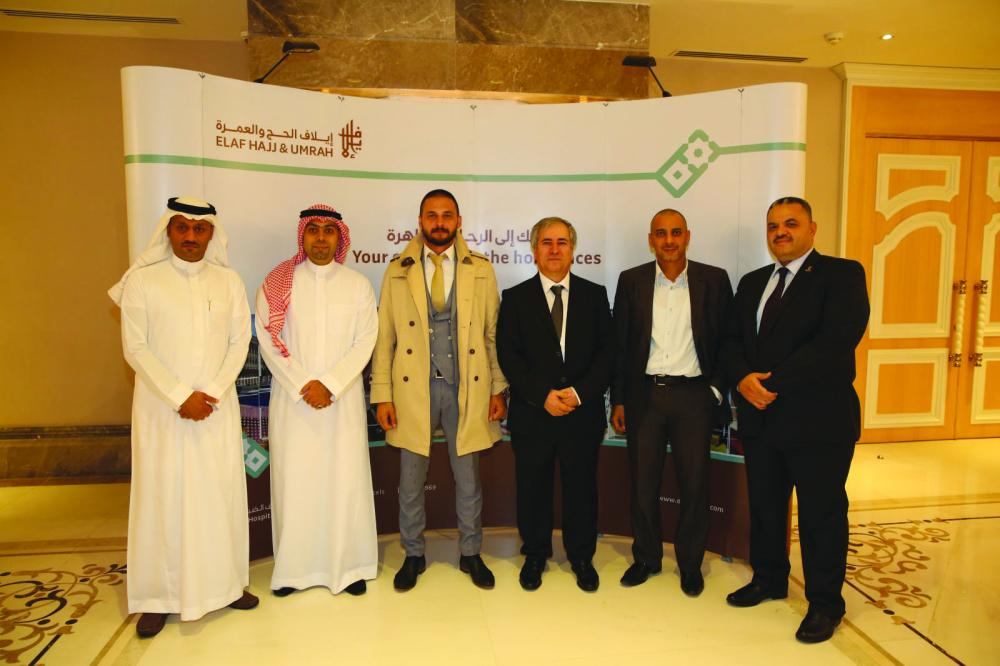 Elaf Group team in one of the foreign roadshows