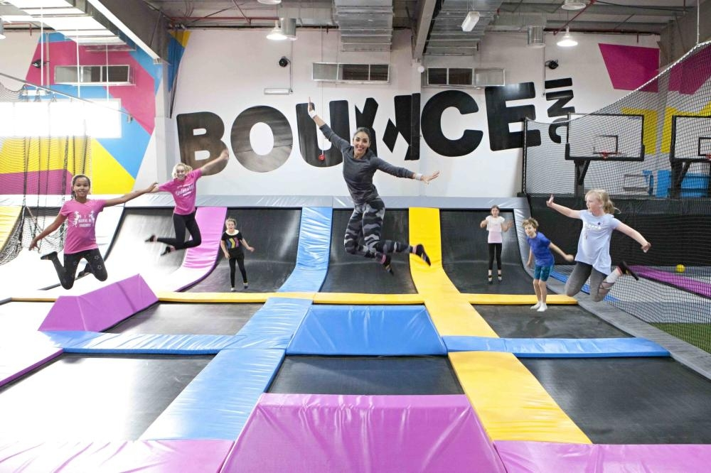 The largest trampoline venue in Riyadh at 3,500 square meters, BOUNCE is located in Rawdah on the Khurais Road.