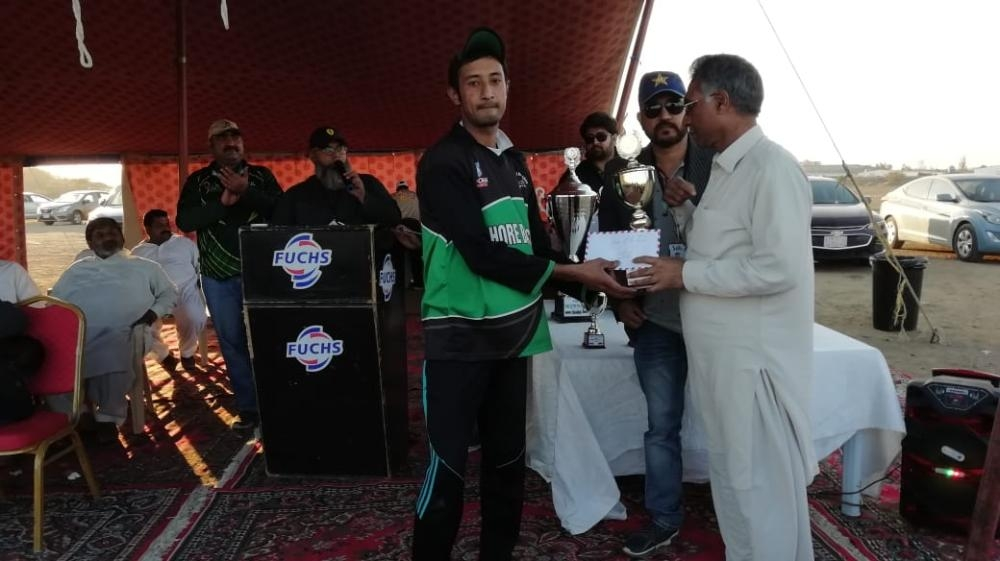 Ziauddin — Player of  the Final