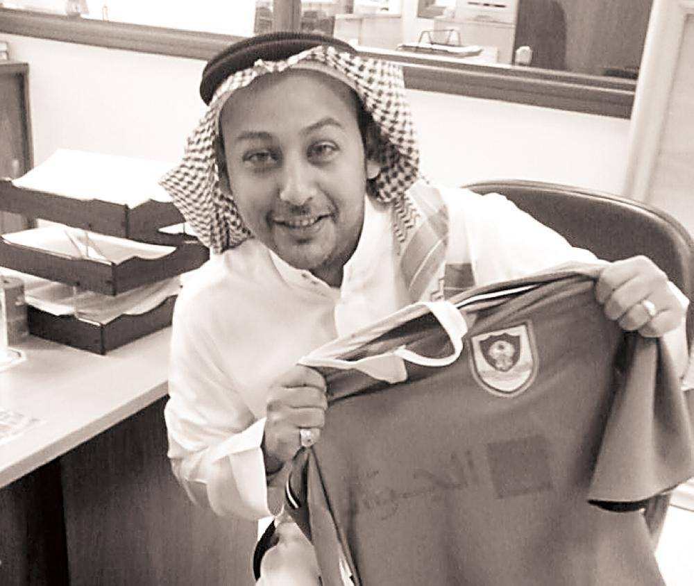 Muhyudeen Baz, a die-hard fan of Al-Ahli Club, never missed a match played by his team in Jeddah.
