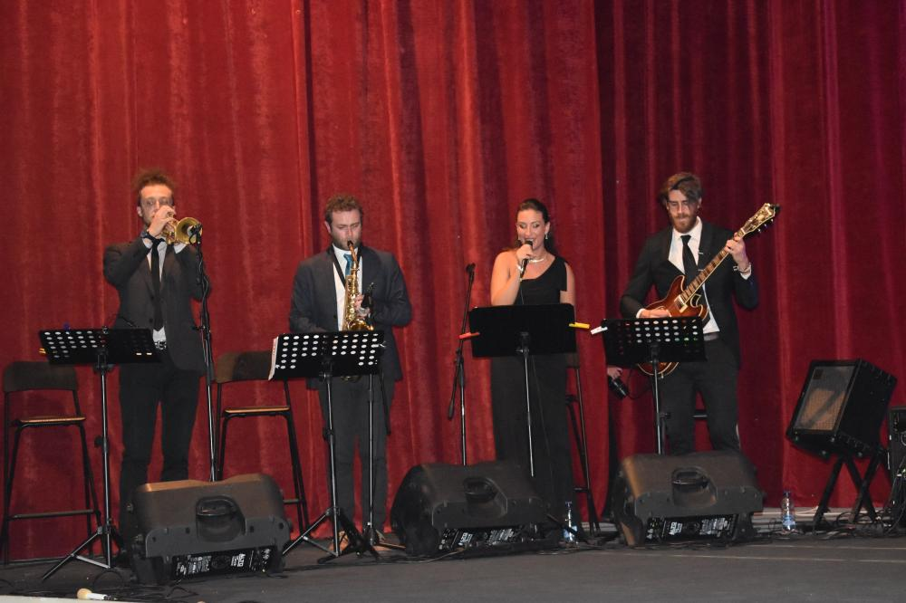 Santa Cecilia Jazz Ensemble playing Italian jazz.