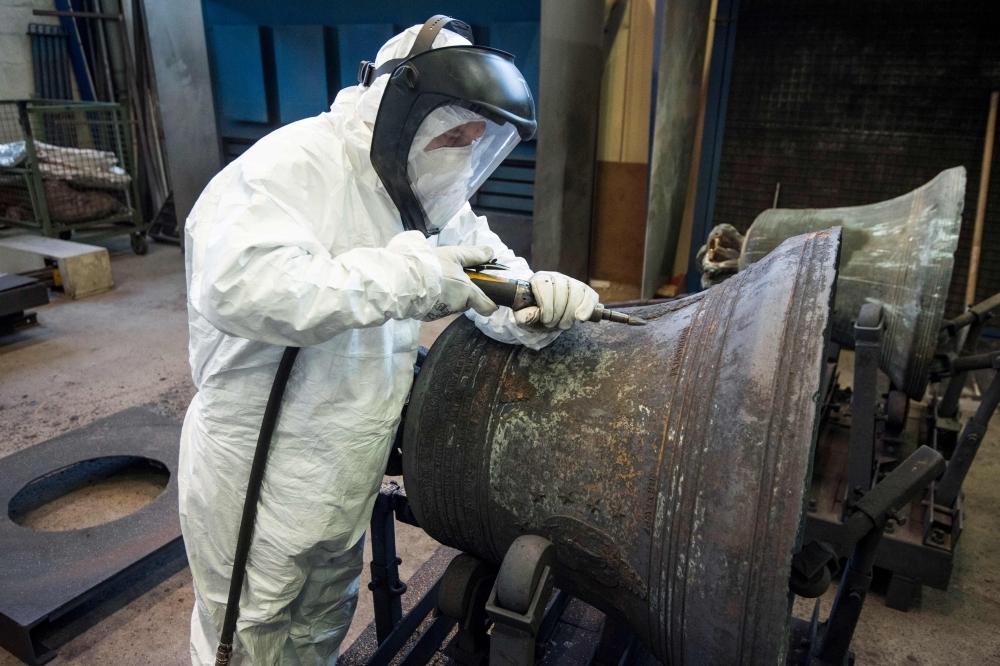 French church bells are nursed back to health - Saudi Gazette