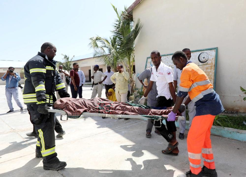 Somalia blast kills at least 16 near presidential palace