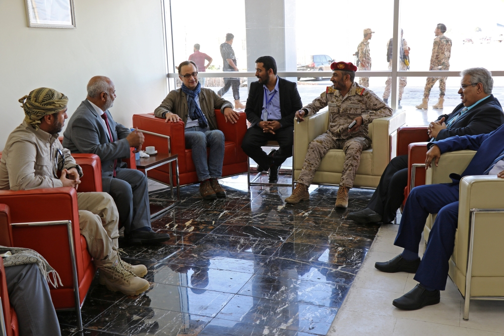 United Nations ceasefire monitors arrive in Yemen