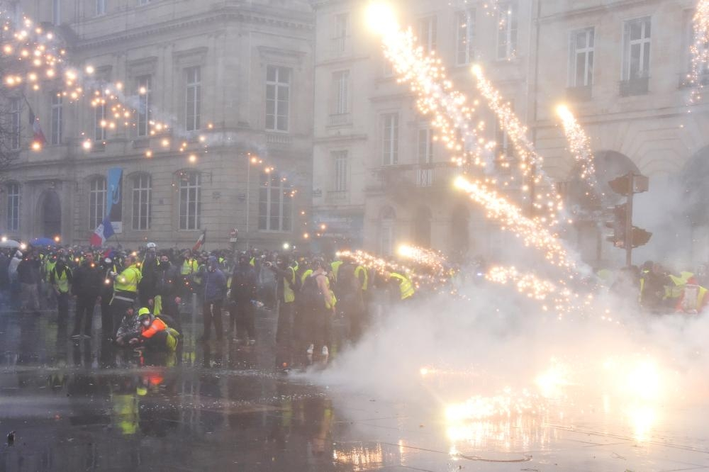 Driver killed in crash at French 'yellow vest' protest
