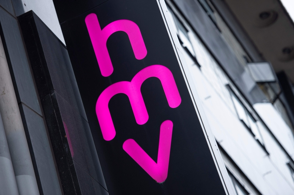 United Kingdom entertainment retail chain HMV falls into administration... again
