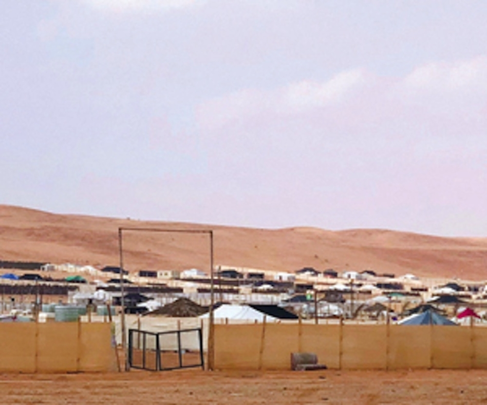 With the arrival of winter, tent owners charge up to SR2,700 a night for camping in the Thumama desert. — Al-Watan photo