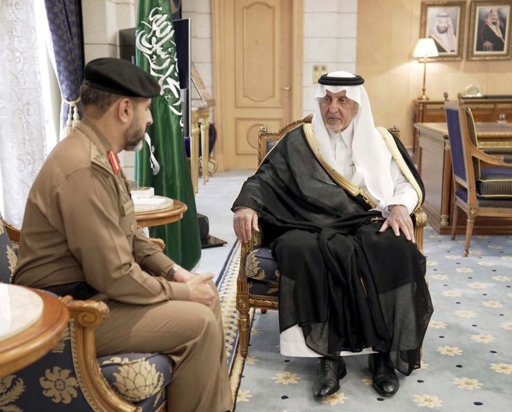 Emir receives head of Grand Mosque security