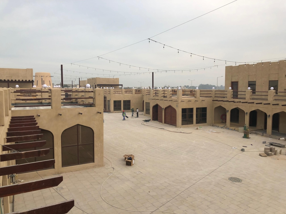 The project to redevelop the Awamiya town in Qatif is nearing completion.