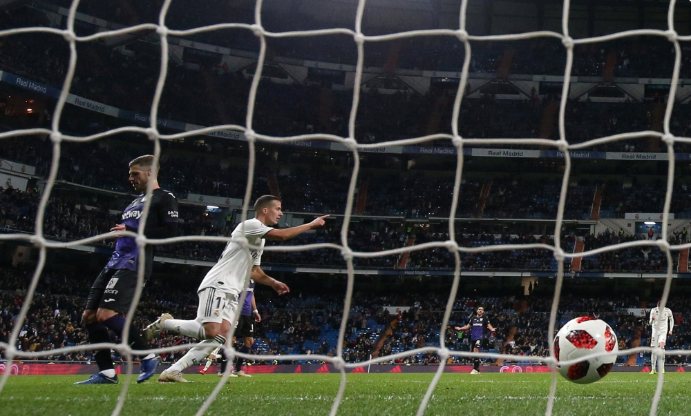 Real Madrid 3-0 Leganes: Brahim Diaz makes debut for home side