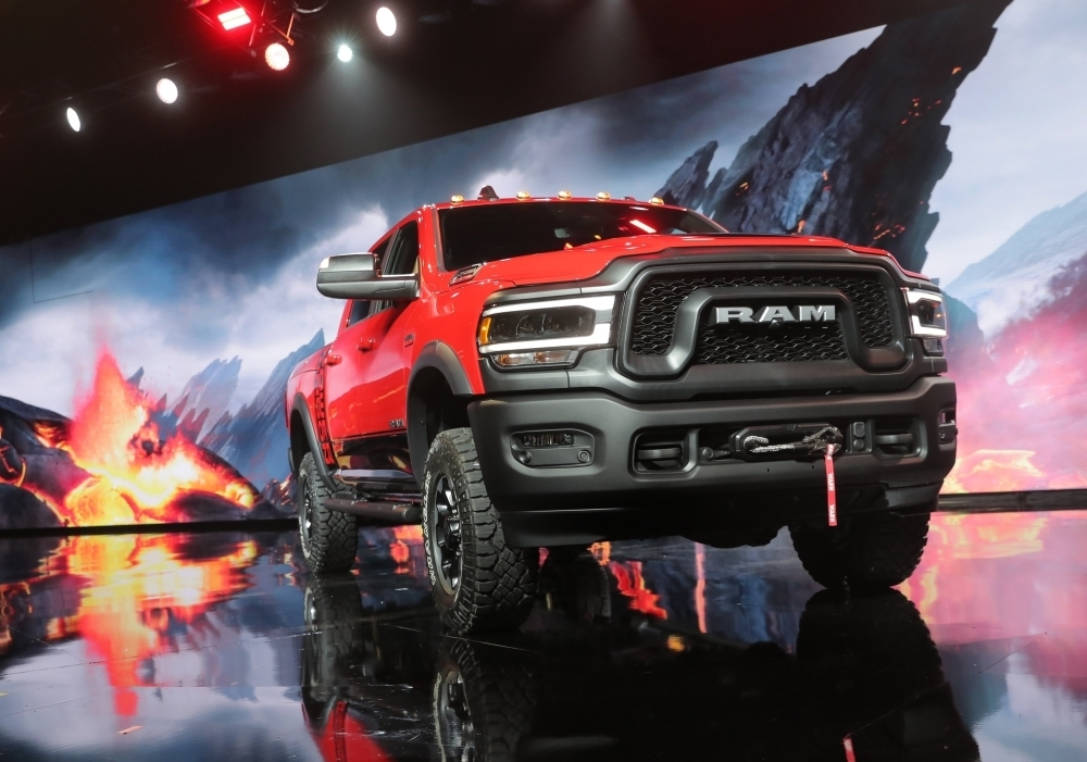 Fiat Chrysler Automobiles (FCA) unveils the 2019 RAM Power Wagon pick up truck