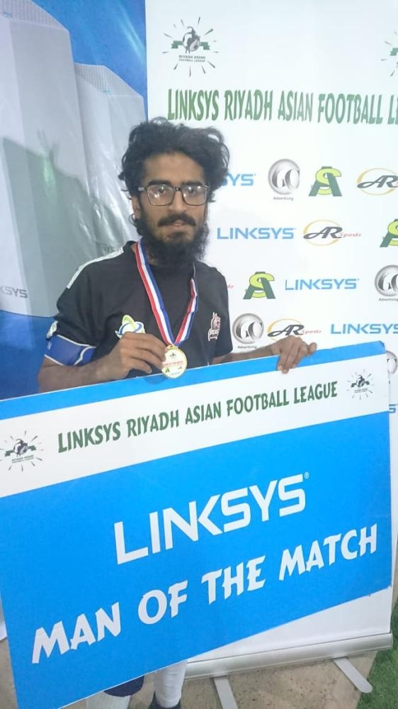 Idrees— Player of the Match