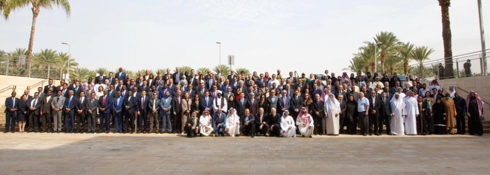 Ambassadors and consuls general of about 90 countries on five continents during their visit to King Abdullah University of Science and Technology (KAUST) in Thuwal on Wednesday.