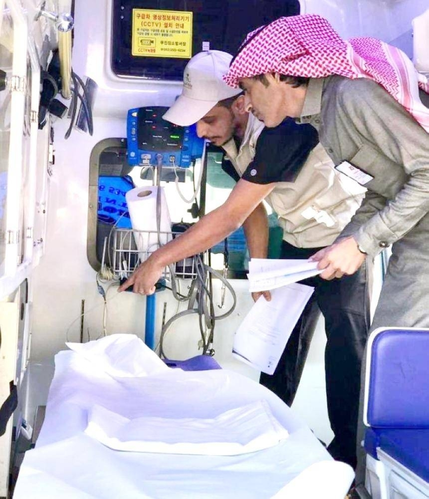 Health Ministry inspectors detected 1,884 violations in the emergency rooms of private hospitals in a five-day inspection campaign across the Kingdom.