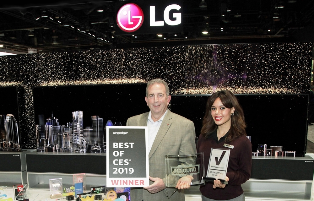 LG CES Awards