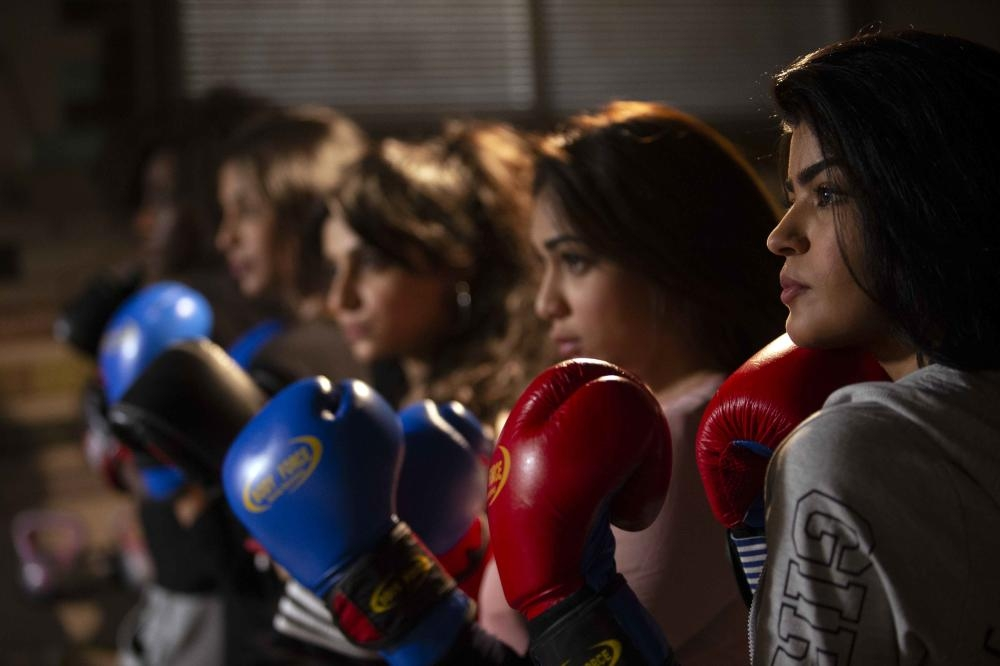 Directed by Saudi filmmaker Samir Aref, 'Boxing Girls' is the screenwriting debut of Afnan Alqasimi, and stars a slew of well-known names in Arab entertainment, including Fatima Al Hosani, Ali Al Sherif and Shaifan Al Otaibi. — Courtesy photo