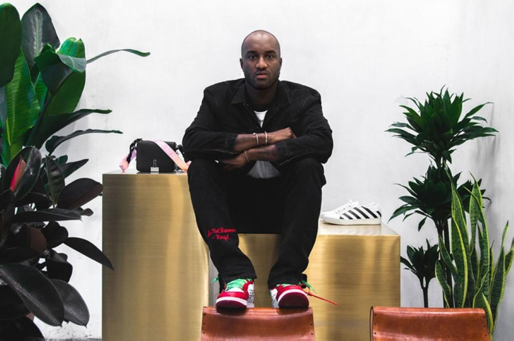 Exclusive:  First Saudi  interview with virgil abloh