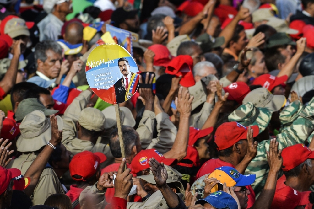 United States  intensifies anti-Maduro push as Russian Federation  backs Venezuelan ally